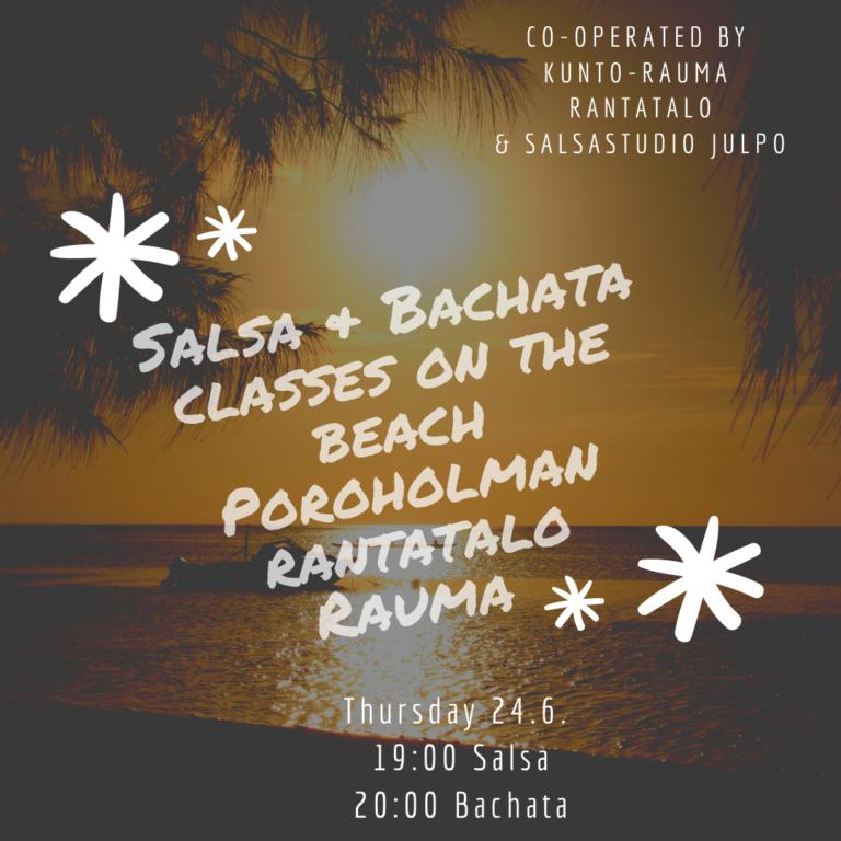 salsa&bachatacclasses in Rantatalo Rauma